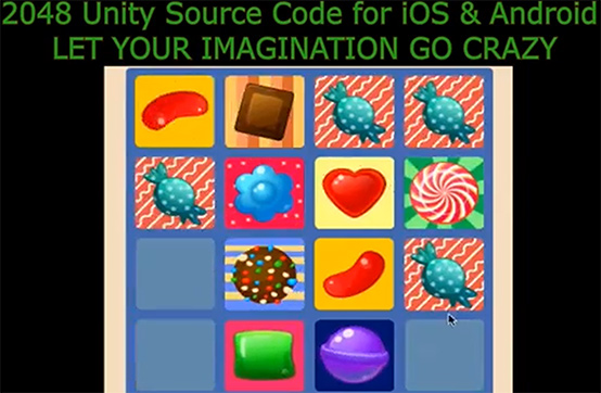 2048 Puzzle Game Source Code iOS & Android (Unity) + Online Course