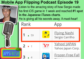 Flying Nashi とびなっしー #1 Japanese app store | Appsfresh