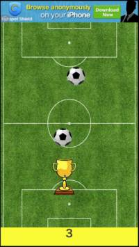 Cup Catch Falling Soccer Ball iTunes App Store