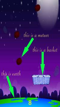 Meteor Drop Game iTunes App Store